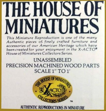 Picture for category The House of Miniatures Kits
