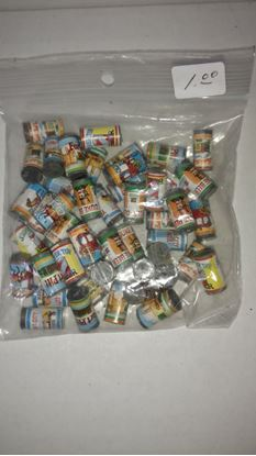 Picture of Used Bag of Dollhouse Canned Goods (Beer) F5