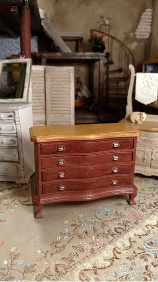 Picture of Dollhouse Hand Painted Dresser