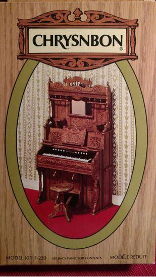Picture of Chrysnbon Pump Organ Kit #F220 No box, No Instructions.