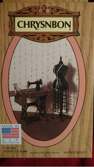 Picture of Chrysnbon Treadle Sewing Machine & Dress Form Kit F-200
