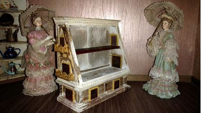 Picture of Dollhouse Display Cabinet