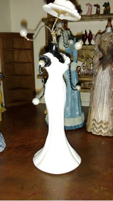 Picture of Dollhouse Miniature White Polystone Dress Form
