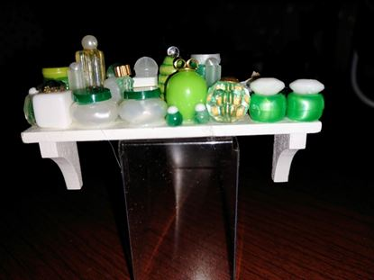 Picture of Dollhouse Loaded Bathroom Shelf