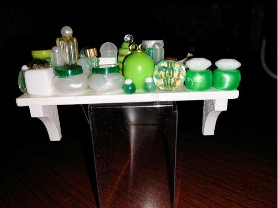 Picture of Dollhouse Loaded Bathroom Shelf
