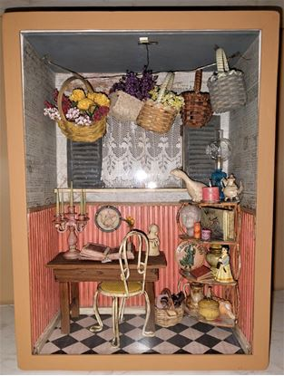 "Picture of Dollhouse Room Box ""my Space"""
