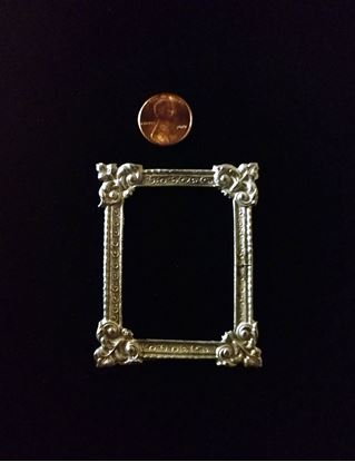 Picture of Miniature Metal Picture Frame