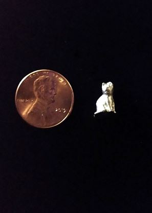 Picture of Miniature Small Metal cat