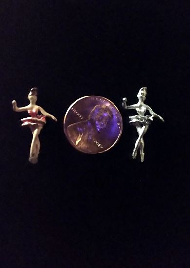 Picture of Dollhouse Metal Miniature Ballerina