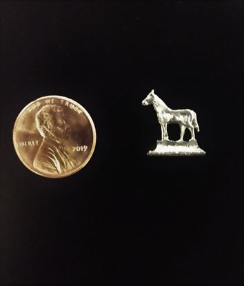 Picture of Miniature Metal Horse Statue