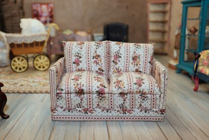 Picture of Dollhouse Fabric Covered Loveseat