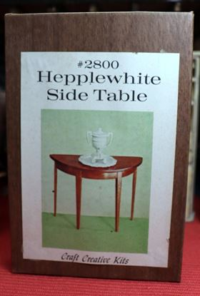 Picture of Craft Creative Kits Hepplewhite Side Table Kit #2800