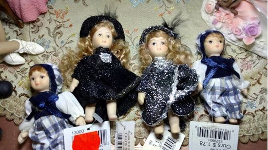 Picture of Miniature Porcelain Doll Lot
