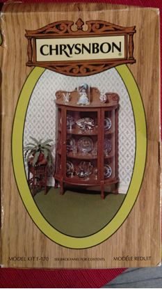 Picture of Chrysnbon China Cabinet and Stand F-170