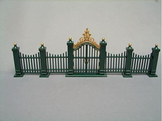 Picture of Department 56 Village Wrought Iron Gate and Fence #5514-0