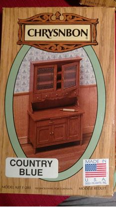 Picture of Chrysnbon Kitchen Cabinet F-280 Wood Grain