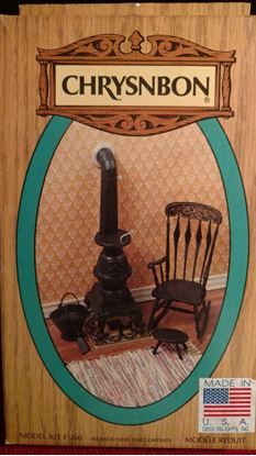 Picture of Chrysnbon Stove, Chair + Kit F-260 Black