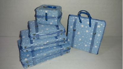 Picture of Dollhouse Luggage Set