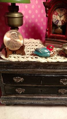 Picture of Dollhouse Miniature Duck