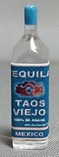 Picture of Dollhouse or Diorama Bottle of Tequila