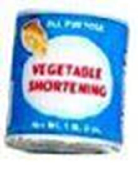 Picture of Miniature Vegetable Shortening 1:24 Scale