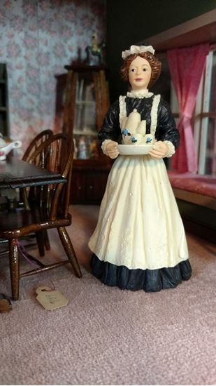 Picture of Dollhouse Resin Housekeeper or Maid