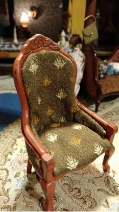 Picture of Dollhouse Rustic Chair