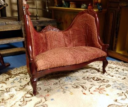 Picture of Dollhouse Victorian Loveseat