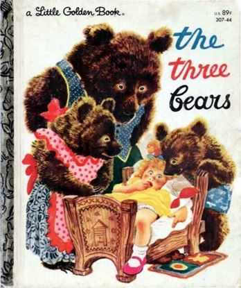Picture of The Three Bears Book Digital Download