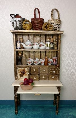 Picture of Rustic Dollhouse Hutch