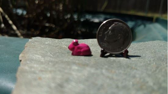 Picture of Dollhouse Metal Miniature Bunny