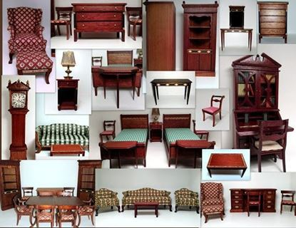 Picture of Lynnfield Dollhouse Furniture  Lot