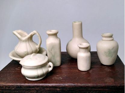 Picture of Pitcher and Washbowl 6 piece set
