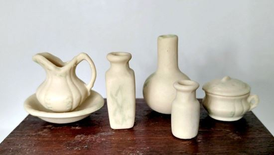 Picture of Pitcher and Washbowl 5 piece set