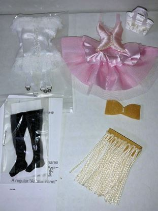 Picture of Miniature Clothing Items for Dollhouse