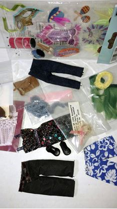 Picture of Miniature Dollhouse Clothing and Accessories