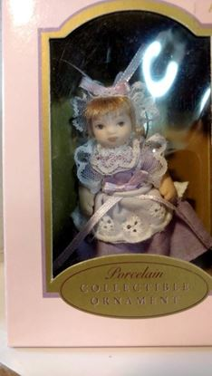 Picture of Miniature Porcelain Doll Little Alice