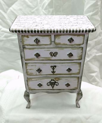 Picture of Ruth's Custom Dollhouse Dresser