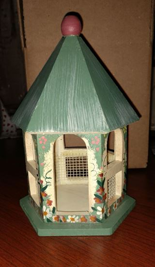 Picture of half scale gazebo