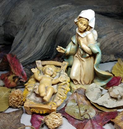 Picture of Fontanini Mary and Baby Jesus