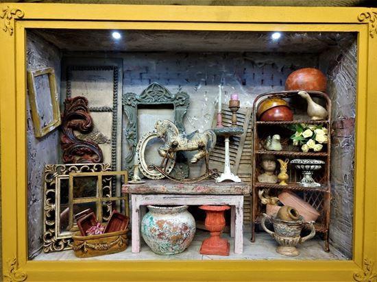 Picture of Room box Treasure Storage