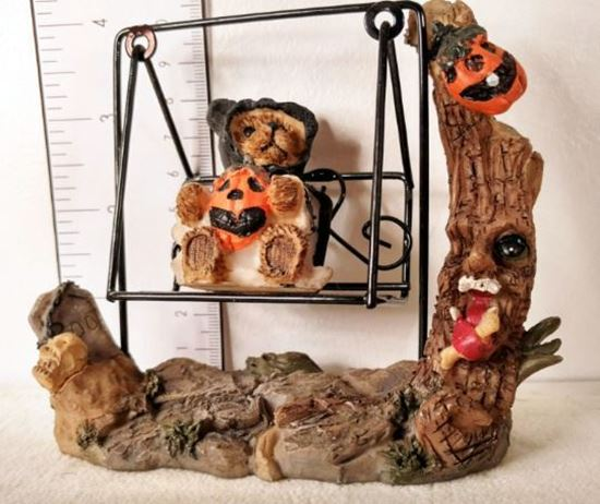 Picture of Miniature Halloween Bench