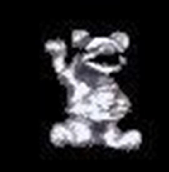 Picture of Miniature Metal Pooh
