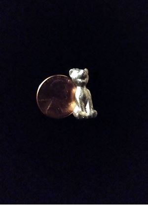 Picture of Miniature Metal Tigger Raw Unpainted