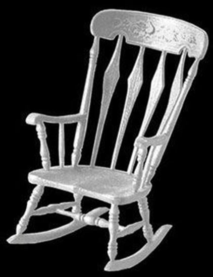 Picture of Chrysnbon Arrowback Rocker Kit M-530 White