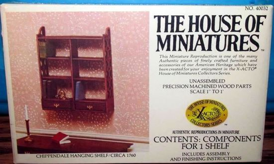 Picture of The House of Miniatures X-Acto Collector Series #40032