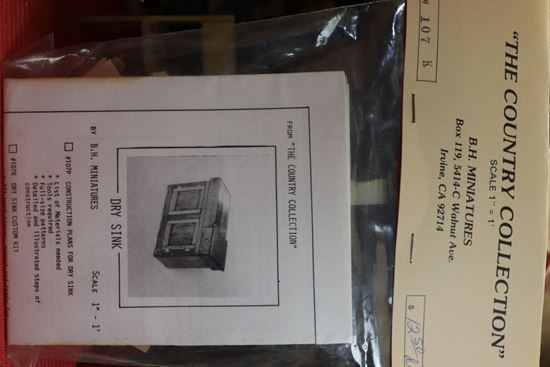 Picture of B.H. Miniatures Dry Sink