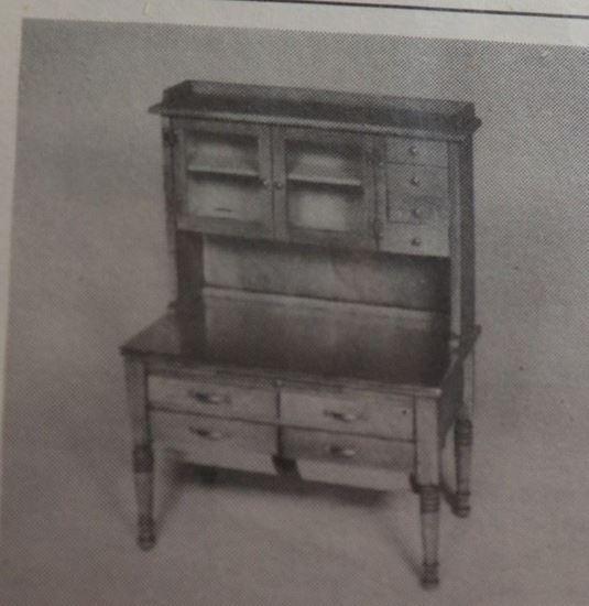 Picture of B.H. Miniatures Hoosier Cabinet Zip Bag