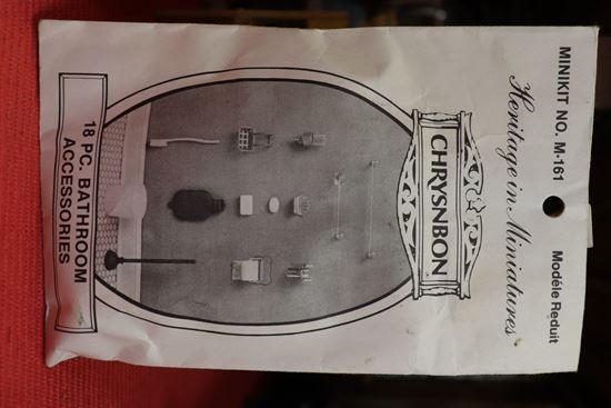 Picture of Chrysnbon 18 pc bathroom kit