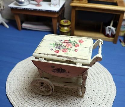 Picture of Wooden Tea Cart